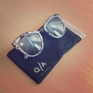 Quay Australia Marble Sunglasses